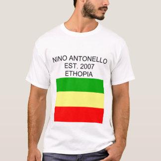 Nino Antonello Est. 2007 Ethopia Flag T-Shirt