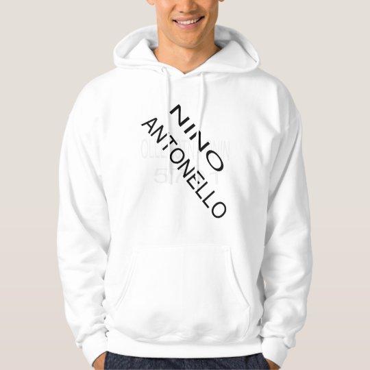 Nino Antonello Slant Nino Antonello 1975 Backwards Hoodie