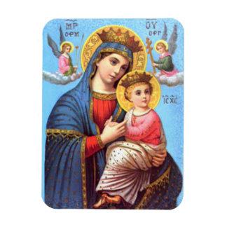 Niño bendecido Jesús del Virgen María y del niño Iman De Vinilo