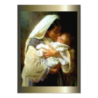 Niño bendecido Jesús del Virgen María y del niño Anuncios