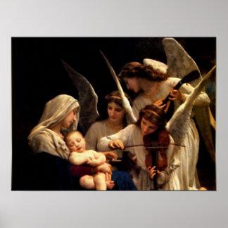 Niño bendecido Jesús del Virgen María y del niño Impresiones