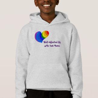 Niño Bien-Ajustado con la camiseta gay de dos