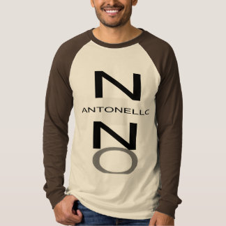 NINO Black Grey and Green BIG Antonello black T-Shirt