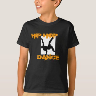 Niño; camiseta de la danza de s Hip Hop