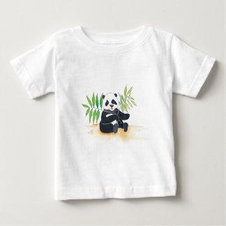 Niño chino T de la panda Playera De Bebé