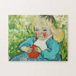 Niño con el naranja, 1890. Vincent van Gogh. Rompecabezas