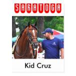 Niño Cruz en Saratoga Postales
