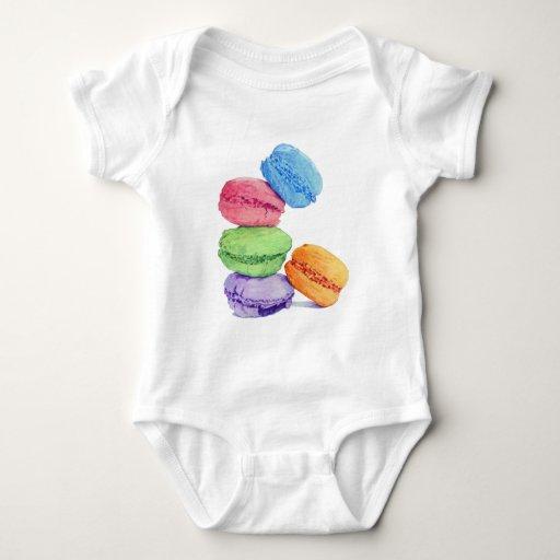 Niño de 5 Macarons Poleras
