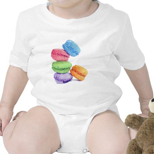 Niño de 5 Macarons Trajes De Bebé