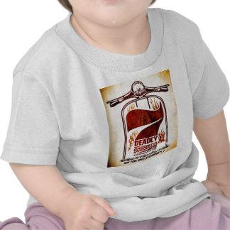 Niño de BlockParty 7 de la vespa de Nueva York Camiseta