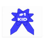 Niño de Blue Ribbon #1 Postales