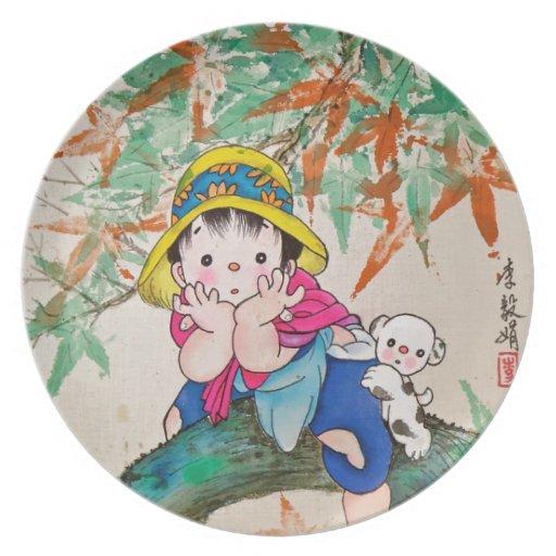 Niño de Chinestyle Plato De Cena