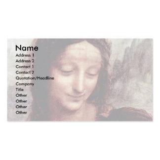 Niño de Cristo con el cordero de St Anne Maria por Tarjetas Personales