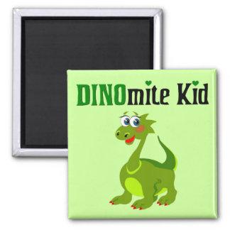 Niño de Dinomite Imán Para Frigorifico
