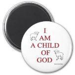 Niño de dios iman de nevera
