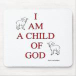 Niño de dios tapetes de raton