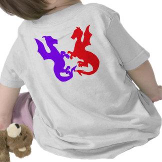 Niño de dragones camiseta
