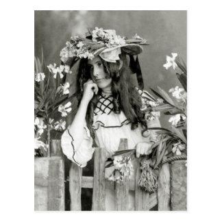 Niño de flor delante de su tiempo: 1902 postales
