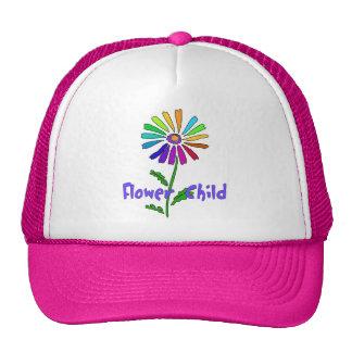Niño de flor gorra