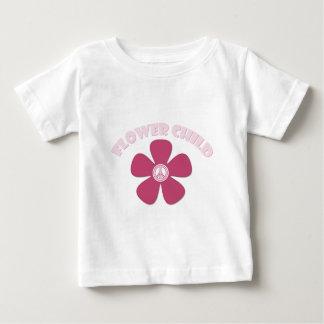 Niño de flor playera de bebé