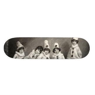 Niño de Friedrich Kaulback Kindercarneval Arlequin Monopatin Personalizado