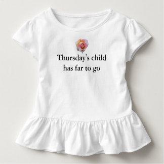 Niño de jueves playera de bebé