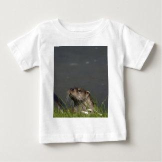 Niño de la camiseta de la nutria