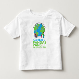 Niño de la camiseta del día de la conciencia de