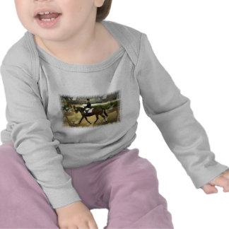 Niño de la competencia del Dressage Camiseta