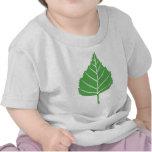 Niño de la hoja del abedul camiseta