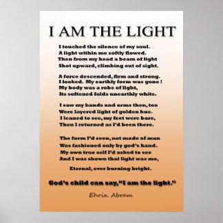 Niño de la luz póster
