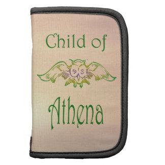 Niño de la mitología griega del semidiós del búho  organizador