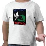 Niño de la paz de Haití Camisetas