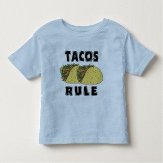 Niño de la regla del Tacos Playera De Bebé