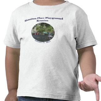 Niño de la reunión del patio del lugar de Hamilton Camiseta