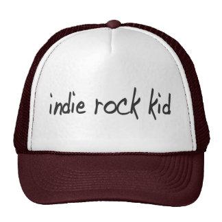 Niño de la roca del indie gorras