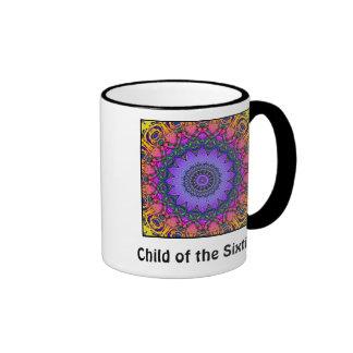 Niño de la taza de los años 60