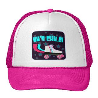 niño de los años 80 gorras