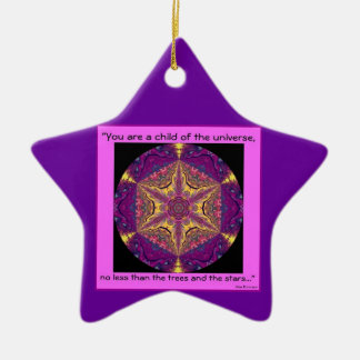"""""""Niño de los desiderátums Ornament.2 del universo"""" Ornamento De Reyes Magos"""