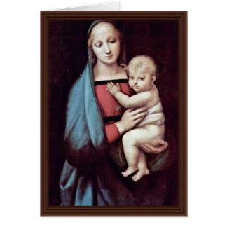 Niño de Maria y de Cristo de Raffael (la mejor Tarjeta De Felicitación