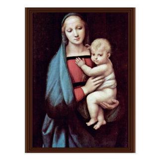 Niño de Maria y de Cristo de Raffael (la mejor Postal