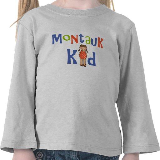 Niño de Montauk de los chicas Camisetas