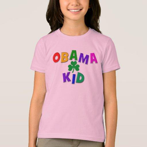 Niño de Obama del irlandés Playera