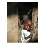 Niño de Obunga Tarjeta Postal