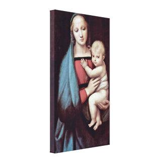 Niño de Raffael - de Maria y de Cristo Lienzo Envuelto Para Galerias