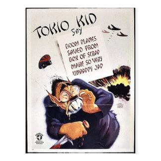 """Niño de Tokio Folleto 8.5"""" X 11"""""""