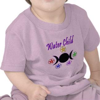 Niño del agua camiseta