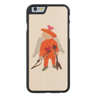 Niño del amor del el día de San Valentín del St. Funda De iPhone 6 Carved® De Arce
