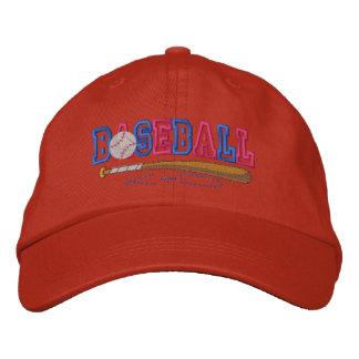 Niño del béisbol gorra de beisbol bordada