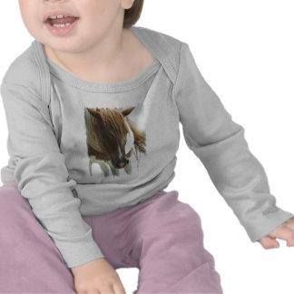 Niño del caballo salvaje del mustango camiseta